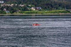 Coast Guard Cutter in Alaska Stock Image