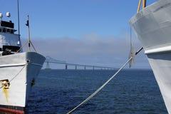Coast Guard Cutter Steadfast and CG Cutter Alert Stock Photo