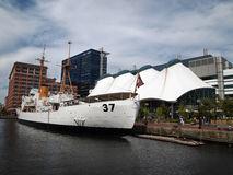 Coast Guard Cutter Taney stock photography