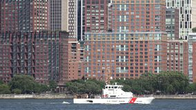 Coast Guard Cutters, Boats, Security. Stock video of coast guard ships stock footage