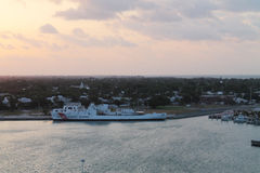Coast guard at Fort taylor key west Royalty Free Stock Images
