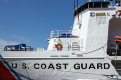 Coast Guard Front Side Royalty Free Stock Images
