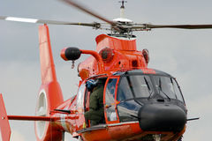 Coast Guard Helicopter royalty free stock image