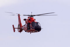 Coast guard helicopter Stock Photos