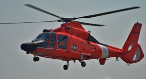 Coast Guard HH-65 Dolphin Helicopter Royalty Free Stock Photo