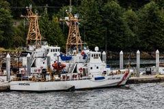 Coast Guard in Juneau Stock Image