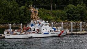 Coast Guard in Juneau Royalty Free Stock Photo