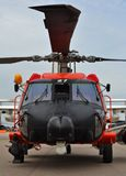Coast Guard MH-60 Jayhawk Rescue Helicopter Royalty Free Stock Photos