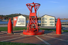 Coast Guard monument Stock Photo