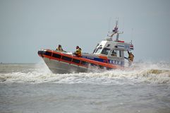 Coast Guard in Netherlands Stock Photos