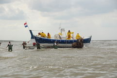 Coast Guard in Netherlands Royalty Free Stock Images