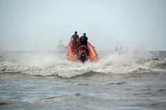 Coast Guard in Netherlands Royalty Free Stock Photos