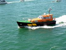 Coast Guard Petrol Royalty Free Stock Image