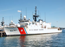 Coast Guard ship Stock Photography