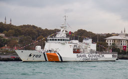 Coast Guard Ship Royalty Free Stock Photos