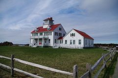 Coast Guard Station. On Cape Cod stock photography