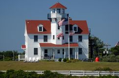 Coast Guard Station. Block Island, Rhode Island Stock Photos