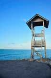 The coast guard tower. Royalty Free Stock Image