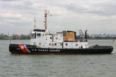 Coast Guard Tug Boat Royalty Free Stock Image