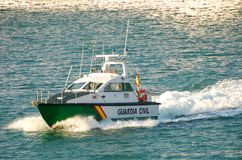 Coast guard vessel Royalty Free Stock Photos