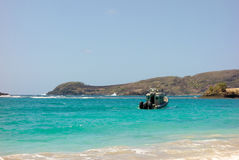 A coast guard vessel at friendship bay, bequia Royalty Free Stock Image