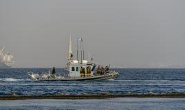Coast guard vessel Israel Royalty Free Stock Photography