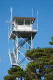 Coast Guard watch tower Stock Photos