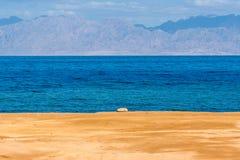 Coast of Gulf of Aqaba Stock Photo