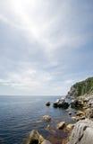 Coast & Halo Royalty Free Stock Photography