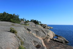 Coast of Hanko Royalty Free Stock Photos