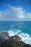 coast hawaii oahu Royaltyfri Fotografi