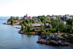 The coast of Helsinki Royalty Free Stock Photo