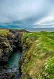 Coast at Hook Head in Ireland Royalty Free Stock Photography