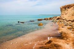 Coast of Hormoz island Royalty Free Stock Photos