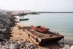 Coast of Hormoz island Stock Photography