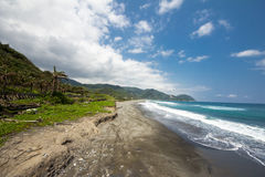 Coast in Hualien Stock Image