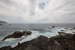 Coast of Hualien, Tawian Royalty Free Stock Image
