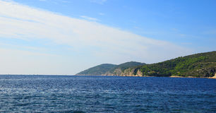 Coast of Hvar,Croatia Stock Photo
