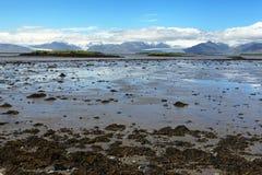 Coast of Iceland Royalty Free Stock Photography