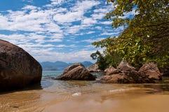 Coast of Ilha Grande Island, Rio de Janeiro State, Brazil Stock Photography