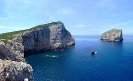 Coast In Sardinia Royalty Free Stock Photography