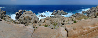 Coast In Sardinia Royalty Free Stock Photos
