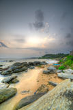 Coast of the Indian ocean Stock Photo