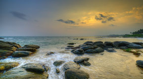 Coast of the Indian ocean Stock Photos