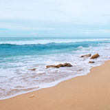 Coast of the Indian Ocean Royalty Free Stock Photos
