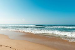 Coast of indian ocean Royalty Free Stock Images