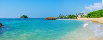 The coast of Indian Ocean Royalty Free Stock Image