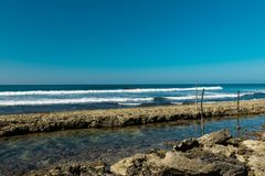 Coast of indian ocean Stock Images