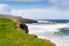 The coast of Ireland Royalty Free Stock Image