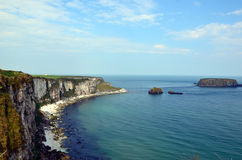 Coast of Ireland with cliffs not to far from Dublin. Ireland with cliffs not to far from Dublin Stock Photo